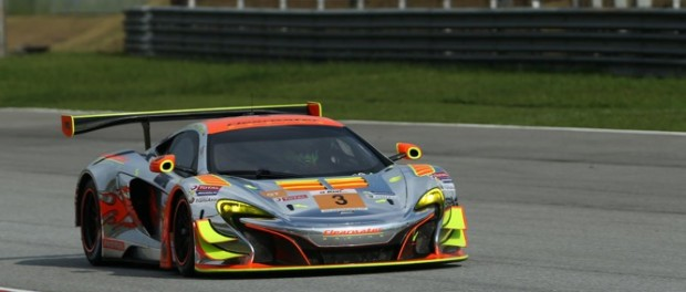 View large preview McLaren 650S GT3 at round 2 of Asian Le Mans Series in Sepang