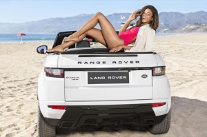 Naomie Harris introduces new Range Rover Evoque Convertible