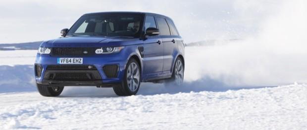 Range Rover Sport SVR Arctic Silverstone