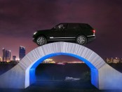 Range Rover Paper Bridge