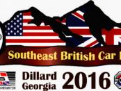 Southeast British Car Festival - Dillard, GA 2016