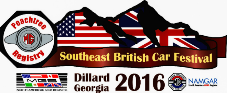 Southeast British Car Festival - Dillard, GA 2016