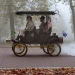 Steam car in Hyde Park