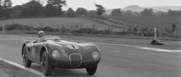 C-Type XKC011 of Stirling Moss racing fame