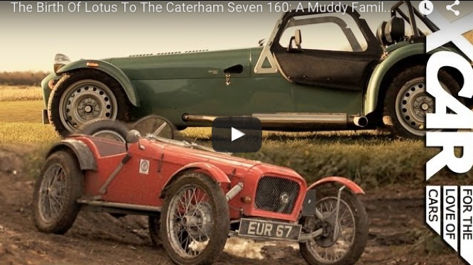 The Birth Of Lotus To The Caterham Seven 160