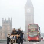 The Car Run crosses Westminster Bridge