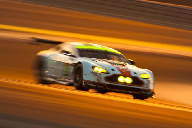 The GTE at Bahrain International Circuit