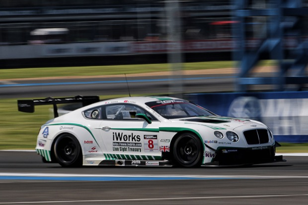Adderly Fong's Bentley Team Absolute Car 8 for Pirellii World Challenge