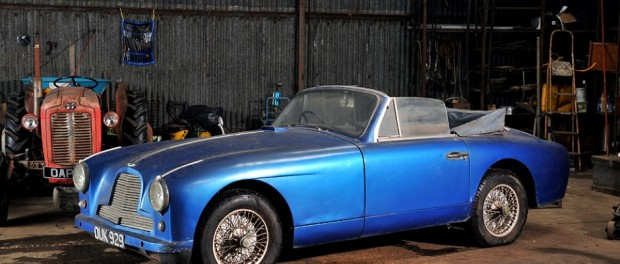 Bonhams' 2012 Aston Martin Sale Early entry barn-find DB2 4 DHC