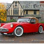British car calendar