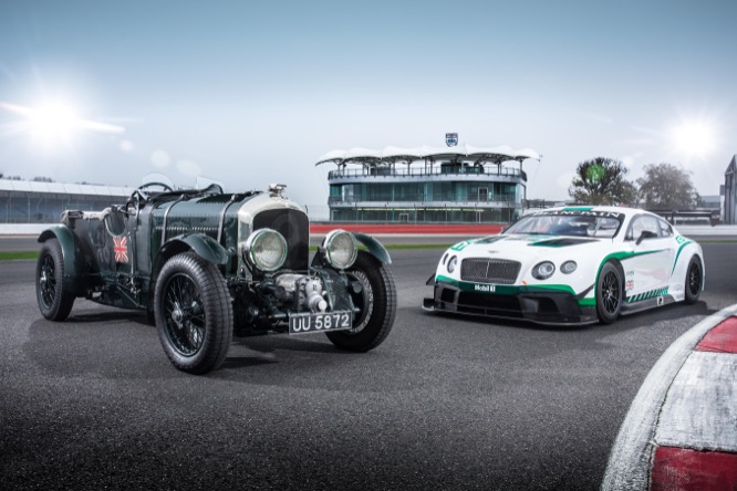 Generations of Speed- Bentley Continental GT3 and the Birkin 'Blower'