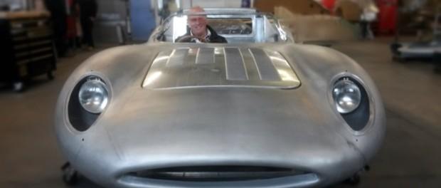 Jaguar XJ13 recreation with Neville Swales