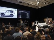 LAND ROVER 'DEFENDER 2,000,000' SELLS FOR RECORD £400,000 AT BONHAMS CHARITY AUCTION