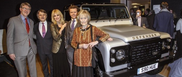 LAND ROVER 'DEFENDER 2,000,000' SELLS FOR RECORD £400,000 AT BONHAMS CHARITY AUCTION - 2