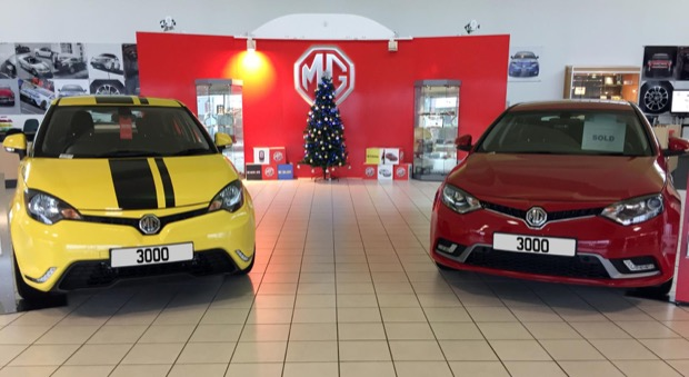 MG Reaches 3000 Registrations