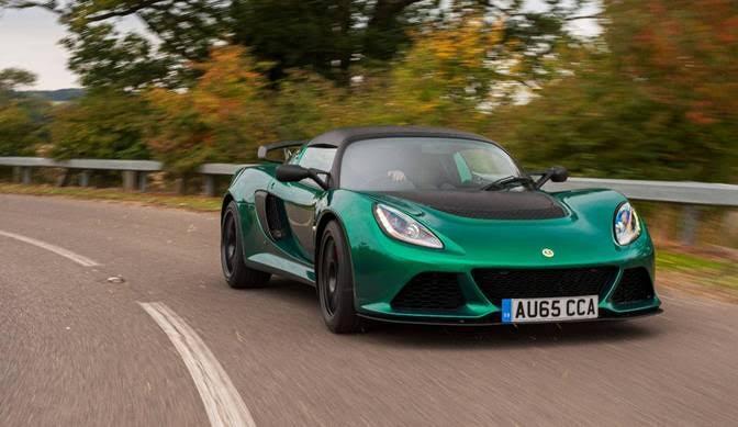 New Lotus Exige Sport 350