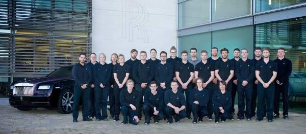 Rolls-Royce Apprenticeship Programme 8