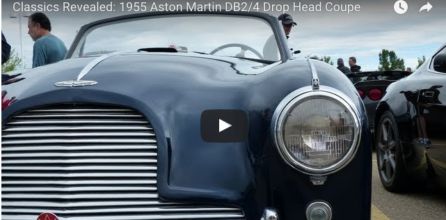VotW - 1955 Aston Martin DB2-4 Drop Head Coupe