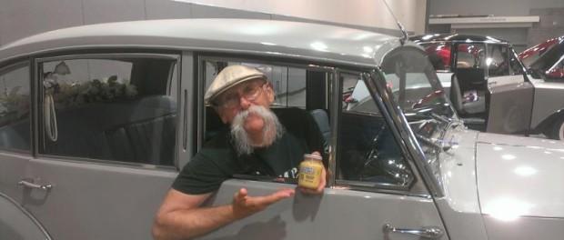 Dennis Gage - Grey Poupon at 2014 British National Meet Arkansas