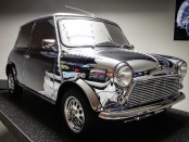 Conceptualized and created in 1999 for the brand's 40th Birthday, the David Bowie Art Mini remains an eccentric reflection of both the musician and brand's tie-in with modern music culture. Photo credit: autocar.co.uk