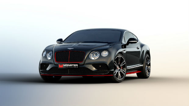 "Bentley and Monster debut ""Monster by Mulliner"" Continental GT V8 S - 3"