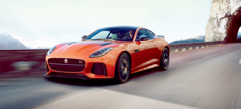 Jaguar F-Type SVR with 575 Horse Power