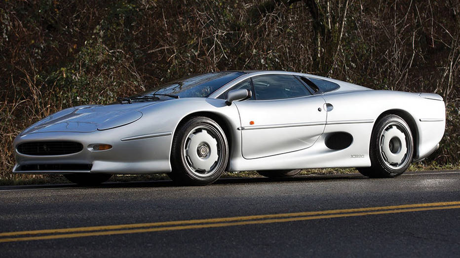 Jaguar XJ220 at RM Sotheby's 2016 Arizona Auction via Autoweek