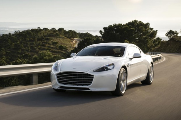 LETV AND ASTON MARTIN REVEAL THE AUTOLINK RAPIDE S AT CES