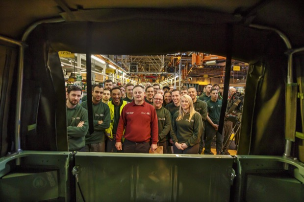Last of the Current Land Rover Defenders is Built in Solihull