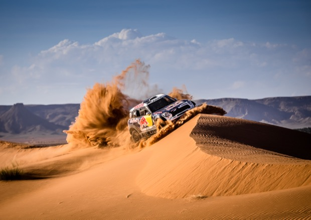 MINI ALL4 Racing X-Raid Team Dakar Naser-Al-Attiyah