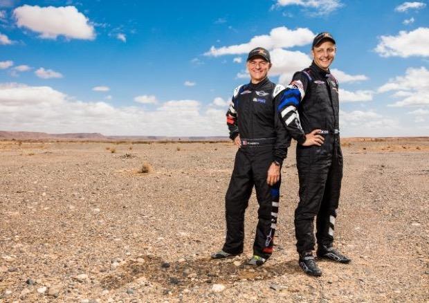 Mikko Hirvonenand Michael Perin - MiNI ALL4 Racing Dakar