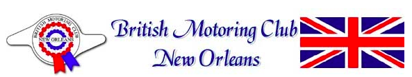 New Orleans 26th Annual British Car Day
