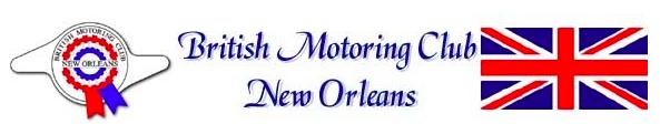 New Orleans 26th Annual British Car Day