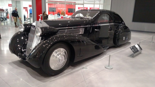 Petersen Museum - Rolls-Royce Round Door