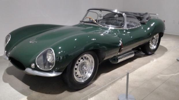 Petersen Museum Steve McQueen 1956 Jaguar XKSS