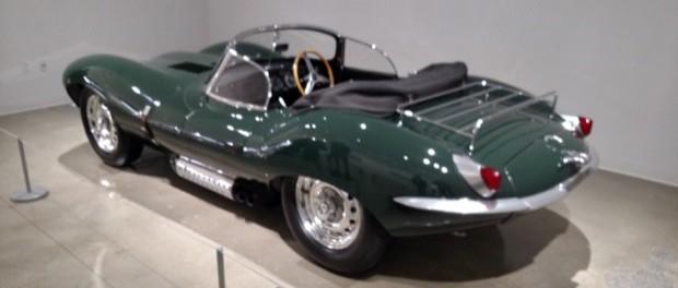 Petersen Museum Steve McQueen Jaguar