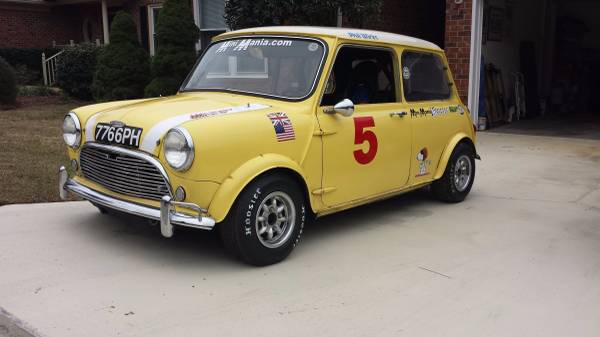 Phil Wicks 1967 Mini Cooper S