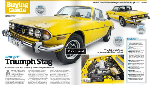 Practical Classics Guide to Triumph Stag 1