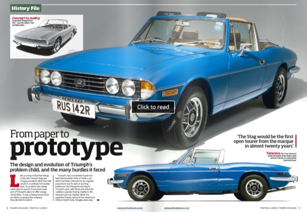 Practical Classics Guide to Triumph Stag 2