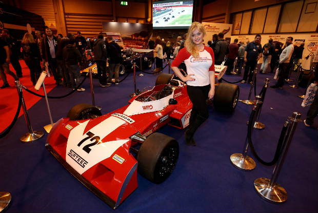 Silverstone Classic's power show at the NEC 1