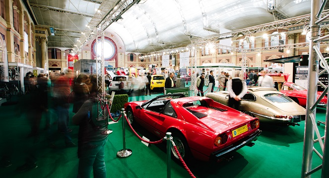 Classic & Sports Car Show Alexandra Palace 31st October 2015 Day 02 Copyright Malcolm Griffiths www.malcolm.gb.net 07768 230706 USAGE Press, PR, Web. NB! ANY USE IN ADVERTISING WILL INCUR FURTHER CHARGE