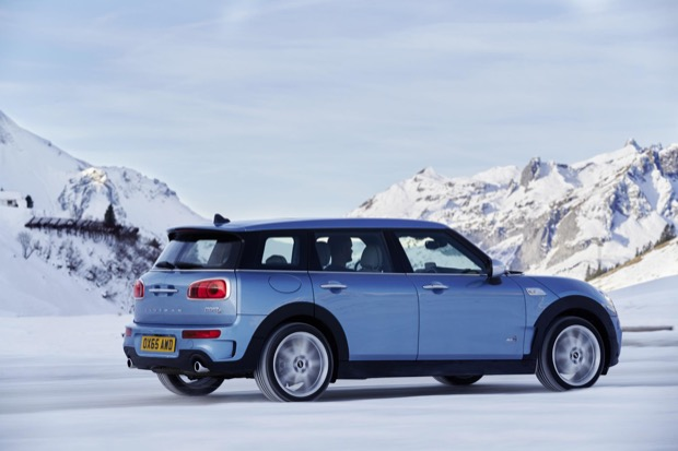 The new MINI Clubman ALL4 2