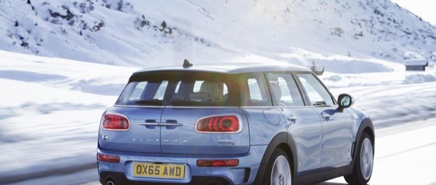 The new MINI Clubman ALL4 4