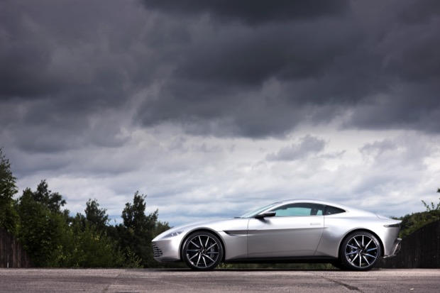 Aston Martin DB10 - July 2015. Photo: Drew Gibson