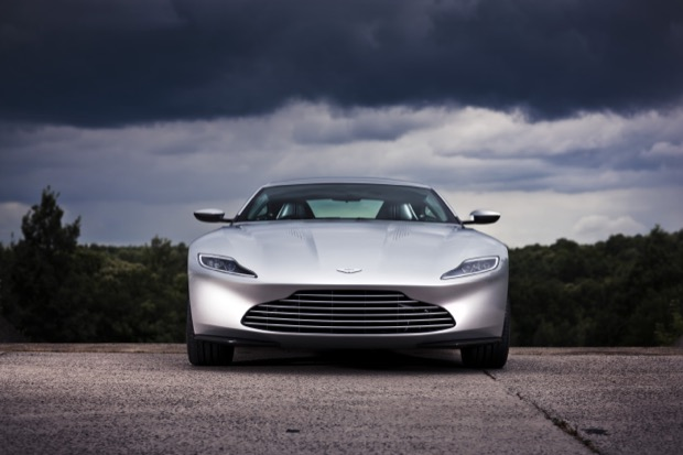 Aston Martin DB10, July 2015. Photo: Drew Gibson