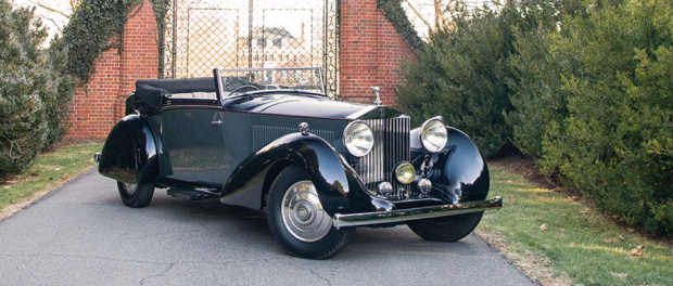 1934 Rolls-Royce Phantom II Continental Sedanca Drophead Coupe by H.J. Mulliner