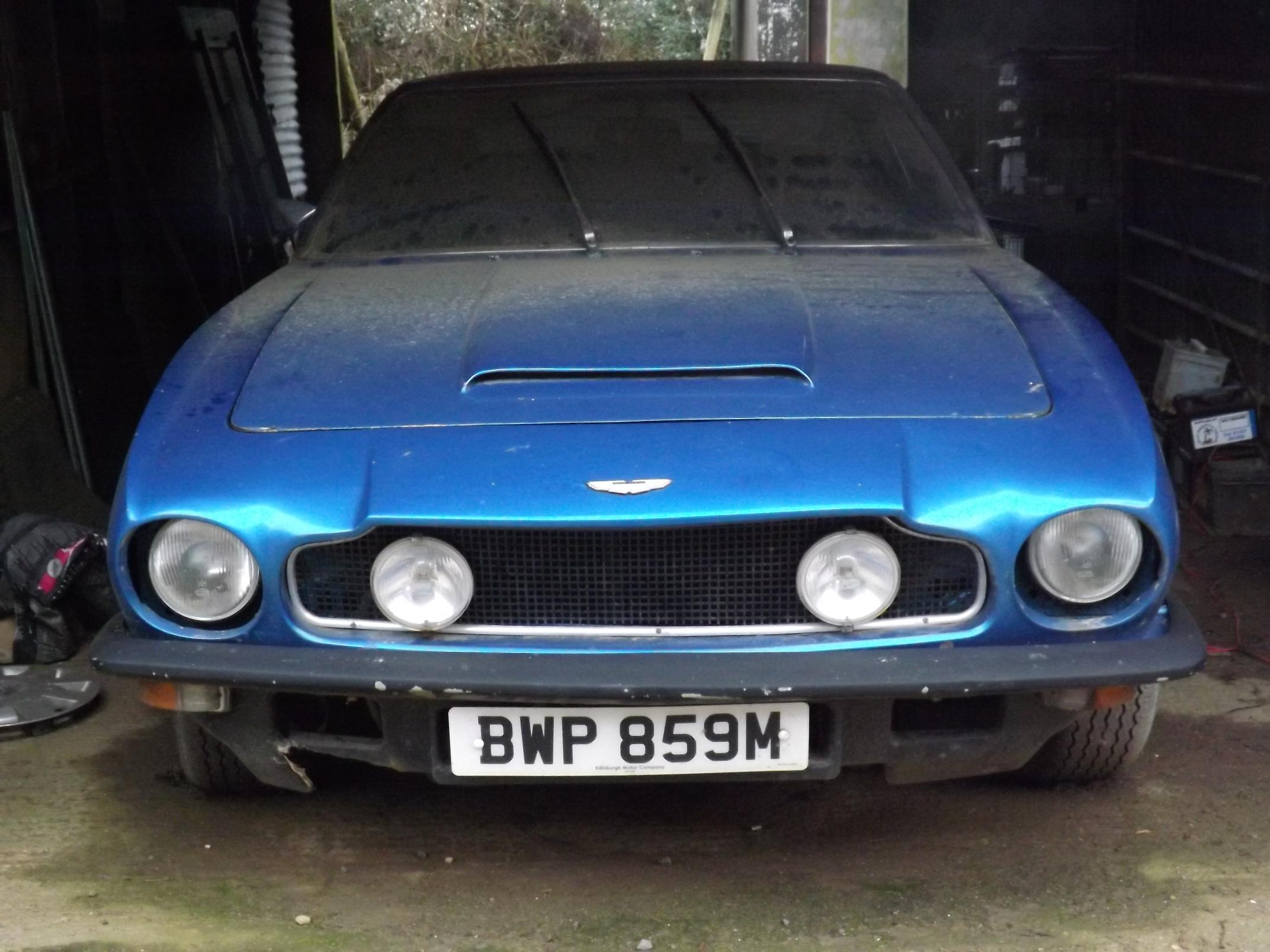 1973 Aston Martin V8 - Barn Find To Auction