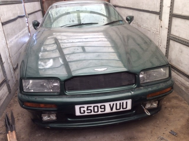 1990 Aston Martin Virage - Barn Find To Auction