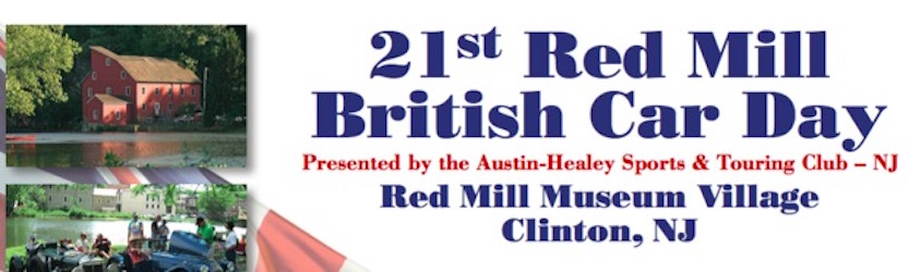 21st Red Mill British Car Day