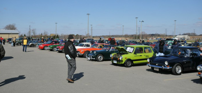 Ancaster British Car Flea Market and Car Show Photo